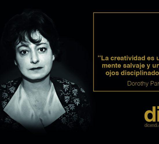 Dorothy Parker.